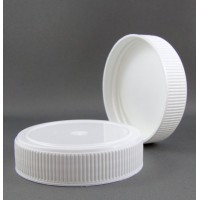 63mm Standard Wadded Screw White Cap