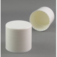 24/415 Smooth Wall Wad Screw Cap White