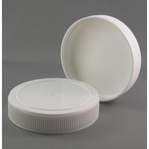 83mm Standard Wadded White Cap